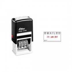 Shiny S-410 Self-inking Stamp [Emailed with Date]