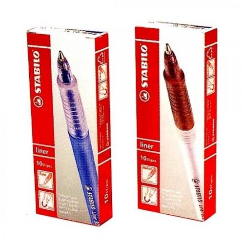 Stabilo 808M Ball Pen (10s)