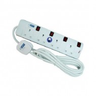 4-Way Portable Socket Outlet (3m)