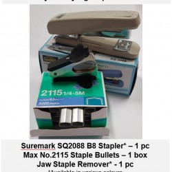 [Bundle-Big Stapler Set] Stapler Staples Staple Remover