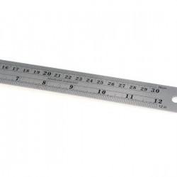 Steel Ruler (L) 12 inch