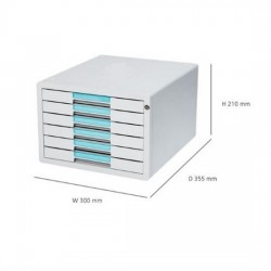 SYSMAX 1126K File Cabinet 6D
