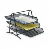 3-Tier Mesh Wire Metal Tray