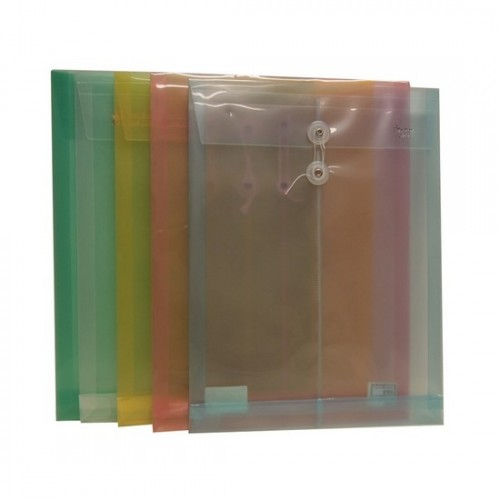 F118 PVC Data Envelope with String A4