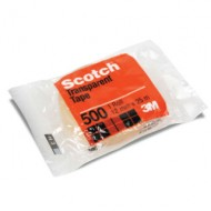 3M Scotch Utility Transparent Tape 500A 12mm