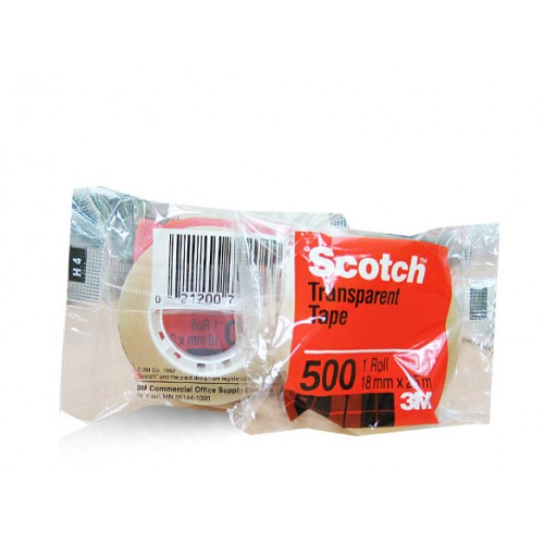 3M Scotch Utility Transparent Tape 500B 18mm