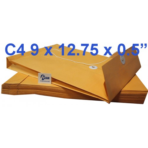 Envelope EXC4 Expandable 9X12.75X0.5 (10s)