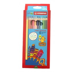 Stabilo 1867B Fun Colour Pencil-12