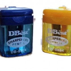 One-Hole Pencil Sharpener with container DB8024