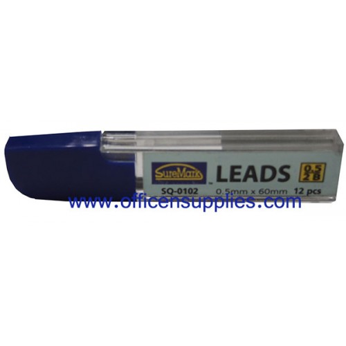 Suremark SQ-0102 Pencil Lead 2B 0.5mm