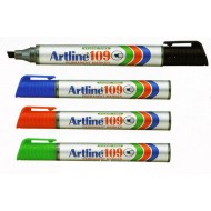 Artline 109 Permanent Marker - Chisel (12pcs per Bx)