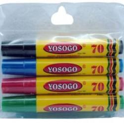 Yosogo Permanent Marker – Fine 4in1