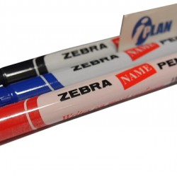 Zebra Name Pen Set-of-3
