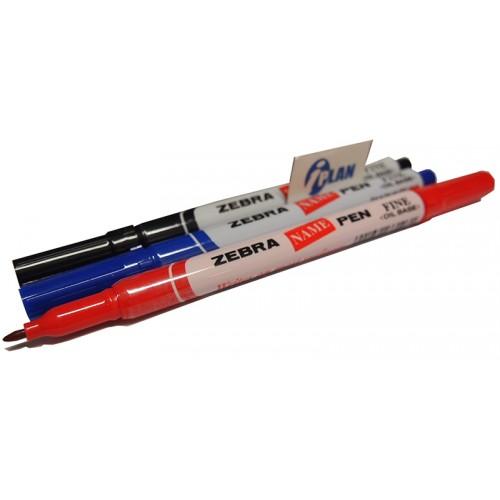 Zebra Name Pen Set-of-3