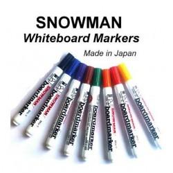 Snowman Whiteboard Marker Bullet -  8in1
