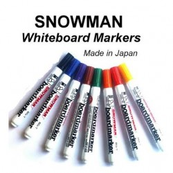 Snowman Whiteboard Marker Bullet -  8in1