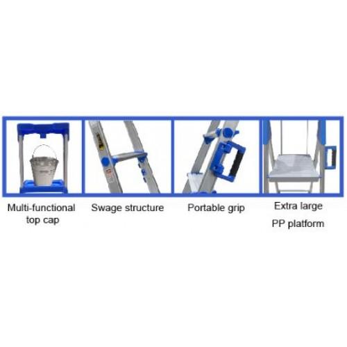 Orex Aluminium Household Ladder