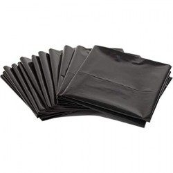 Black Plastic Dustbin Liner (Carton)