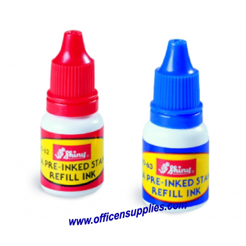 Shiny Refill Ink for OA Pre-Inked Stamp 10ml