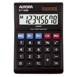Aurora DT-168B 8-Digit Desktop Calculator