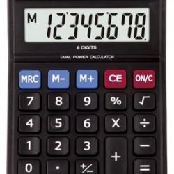 Aurora DT-168B 8-Digit Desktop Calculator