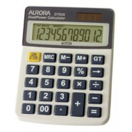 Aurora DT635 12-Digit Desktop Calculator