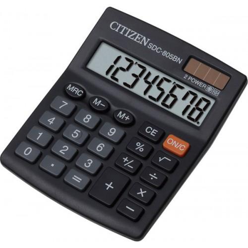 Citizen SDC805BN 8-Digit Calculator