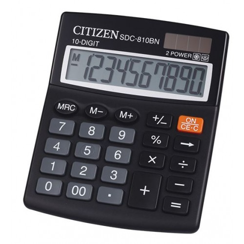 Citizen SDC810 10-Digit Calculator