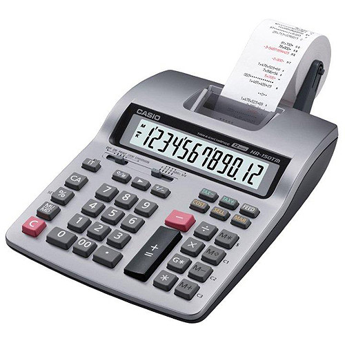 Casio HR150TM 12-Digit Printing Calculator