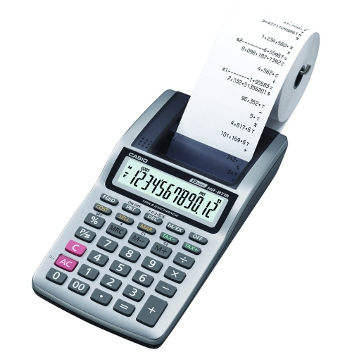 Casio HR100TM 12-Digit Printing Calculator
