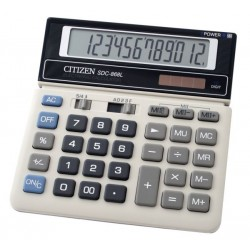 Citizen SDC868L 12-Digit Calculator