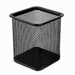 Flexi Lz-201S Wire Mesh Pen Stand (Square)