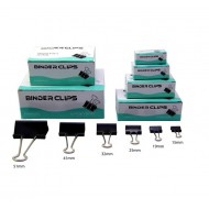 Binder Clips 19mm (Box of 12 pcs)