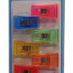Lemon 885619 Colour Plastic Clip 7s LS2