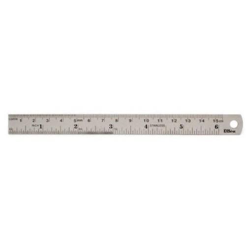 Steel Ruler 6 (S) inch