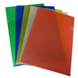 Colour L-Shape Folder FS (doz)