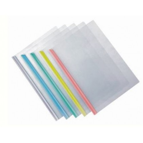 Report Cover Files with Sliding Bar A4 (10pcs/pack)
