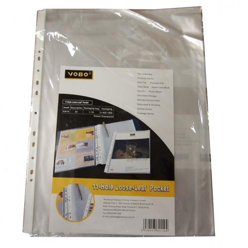 11-Hole Refillable Sheet Protector A3 (10s)