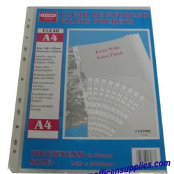 11-Hole Sheet Protector 0.08mm - Thick (Box)