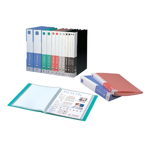 Kam KS80AB Clear Book with View Cover A4 80pkts