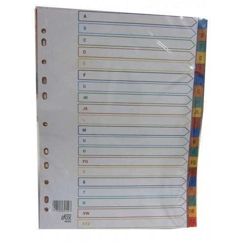 PP Plastic Colour Divider A-Z
