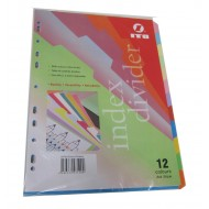 Paper Divider Colour 12tab
