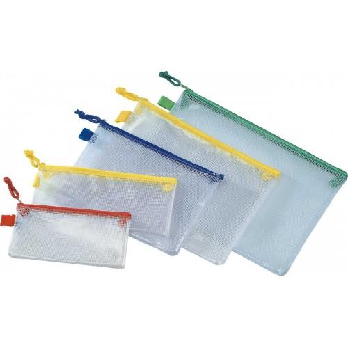 Zipped Mesh Bag