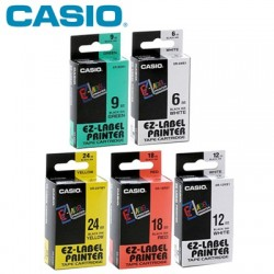 Casio Label Tape Cartridge XR-9 (9mm)