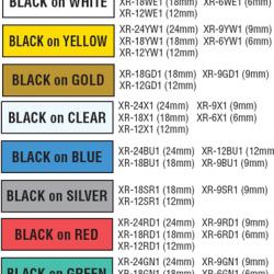 Casio Label Tape Cartridge 6mm