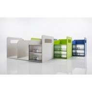 Sysmax 42300 Book Rack with Drawer