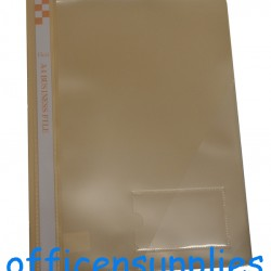 Flexi T6 A4 Business File With Front Insert (Beige)
