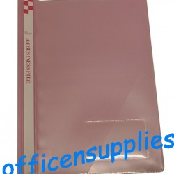 Flexi T6 A4 Business File With Front Insert (Pink)