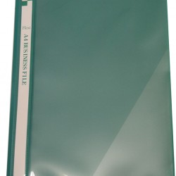 Flexi T6 A4 Business File With Front Insert (Green)