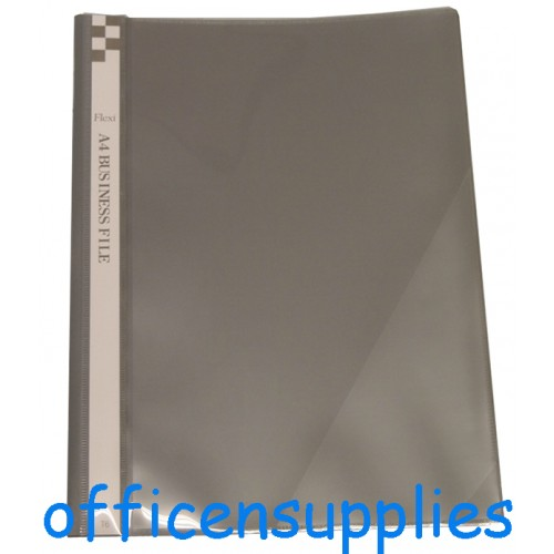 Flexi T6 A4 Business File With Front Insert (Grey)
